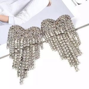Heart ❤️ dangle earrings